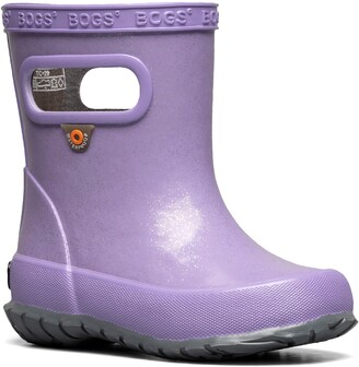 Bogs Skipper Glitter Waterproof Rain Boot