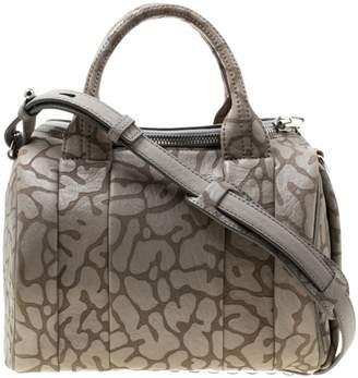 Alexander Wang Rockie Grey Leather Handbags
