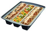 """Chicago Metallic 26783 Lasagna Trio Pan, 12 by 15 by 3"""", Silver by"""