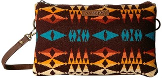 Pendleton Large Three Pocket Keeper (Redtop) Handbags
