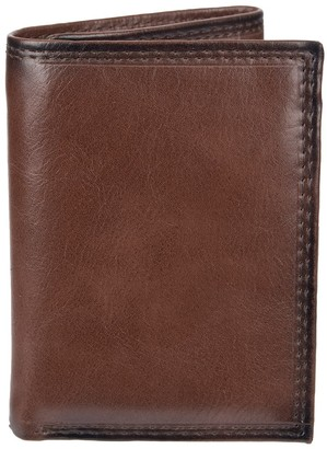 Croft & Barrow Men's RFID-Blocking Zippered Trifold Wallet