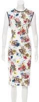 Erdem Floral Print Sheath Dress w/ Tags