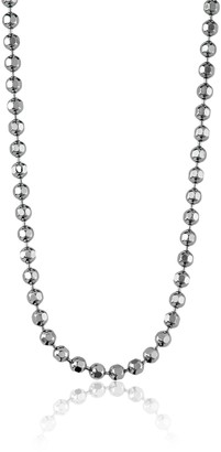 "Alex Woo Chain"" Sterling Silver Diamond-Cut Ball Chain 16"""