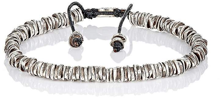 M. Cohen Men's Oxidized Silver Bracelet