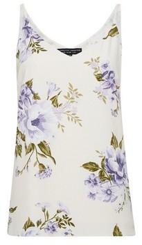 Dorothy Perkins Womens Lilac Floral Print Cami Top