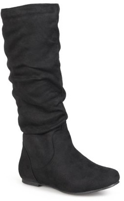 Brinley Co. Slouchy Microsuede Boots (Women's)