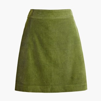 J.Crew Corduroy mini skirt