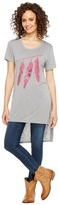 Roper 1135 Poly Rayon Loose Fit Tee Women's T Shirt