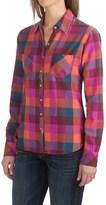 Dickies Herringbone Plaid Flannel Shirt - Cotton, Long Sleeve (For Women)
