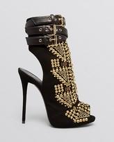 Giuseppe Zanotti Peep Toe Platform Booties - Coline High Heel