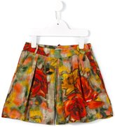 Morley 'Eve' rose print shorts - kids - Viscose - 6 yrs