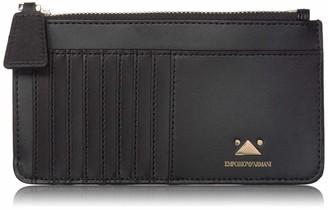 Emporio Armani Designer Card Holder and Zipper Wallet