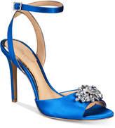 Badgley Mischka Hayden Embellished Sandals Women's Shoes