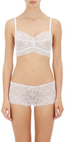 Cosabella WOMEN'S GLOW-IN-THE-DARK SOFT BRA-WHITE SIZE S