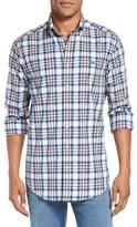 Vineyard Vines Men's 'Naushon' Slim Fit Plaid Sport Shirt