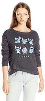 Disney Women's Stitch Wrapped Sweatshirt