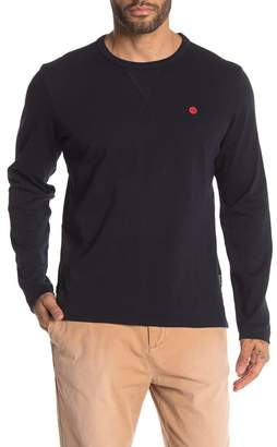 Scotch & Soda Crew Neck Long Sleeve T-Shirt