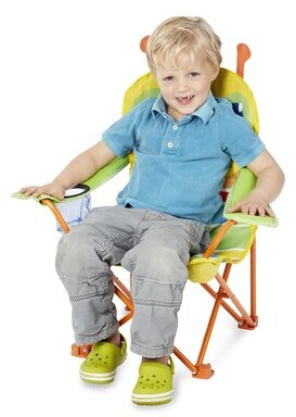 Melissa & Doug Happy Giddy Kids Chair with Cup Holder