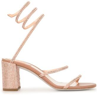 Rene Caovilla Cleo crystal sandals
