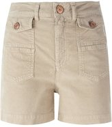 See by Chloe corduroy shorts - women - Cotton/Elastodiene - 27