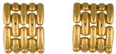 Givenchy Curved Link Earrings