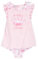 First Impressions Baby Girls' Daddy's Princess Skirted Sunsuit