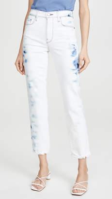 Frame Le Sylvie Crop Raw Edge Jeans
