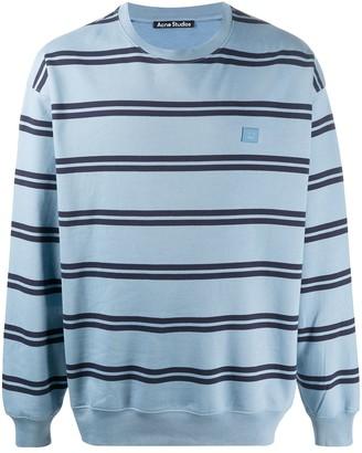 Acne Studios Oversize Stripe Sweatshirt