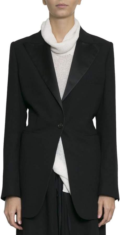 Ann Demeulemeester Wool Drawstring Jacket