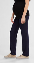 Esprit Stretch jersey trousers + above-bump waist