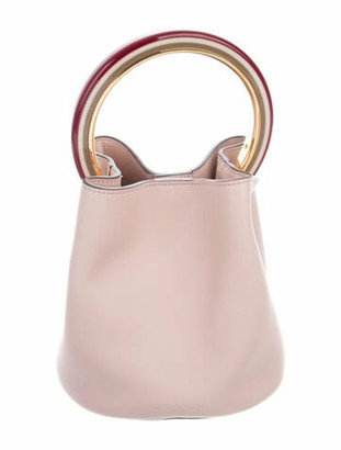 Marni Pannier Bucket Bag Pink