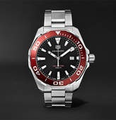 Tag Heuer Aquaracer 43mm Polished-Steel Watch