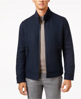 Andrew Marc Men's Trail Wool Double-Faced Bomber Jacket