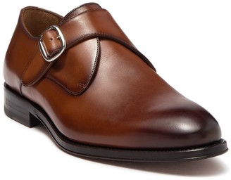 Antonio Maurizi Leather Single Monk Strap Loafer
