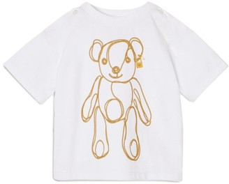 Burberry Kids Cotton Bear T-Shirt