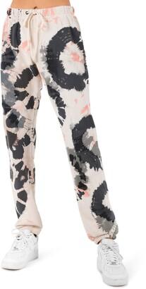 Pam & Gela Powder Boy Tie Dye Print Sweatpants