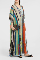 Missoni Lurex Stripe-Knit Kaftan