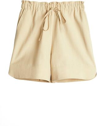 Rodebjer Mila Woven Drawstring Shorts