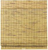 Asstd National Brand Burnout Bamboo Cordless Roman Shade