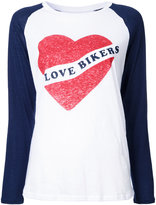 Zoe Karssen I Love Bikers T-shirt - women - Cotton/Linen/Flax - S