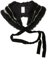 Miu Miu Black Fur Coat