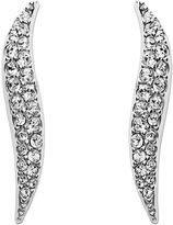 Swarovski Earrings, Crystal S Drop Earrings