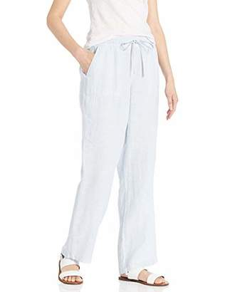 Amazon Essentials Women's Solid Drawstring Linen Pant