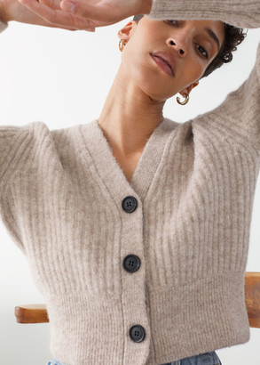 And other stories Wool Blend Cardigan