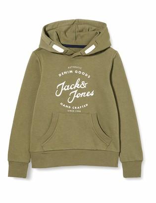 Jack and Jones Men's JJHERO Sweat Hood JR Pullover