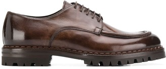 Eleventy chunky sole Derby shoes