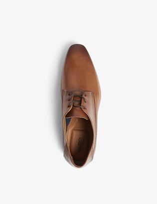 Aldo Honnorat leather derby shoes