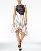 Rachel Roy Striped Fit & Flare Dress, Only at Macy's