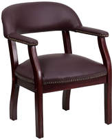 Asstd National Brand Traditional Italian Leather Captains Office Chair