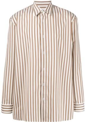 Maison Margiela Striped Long Sleeves Shirt